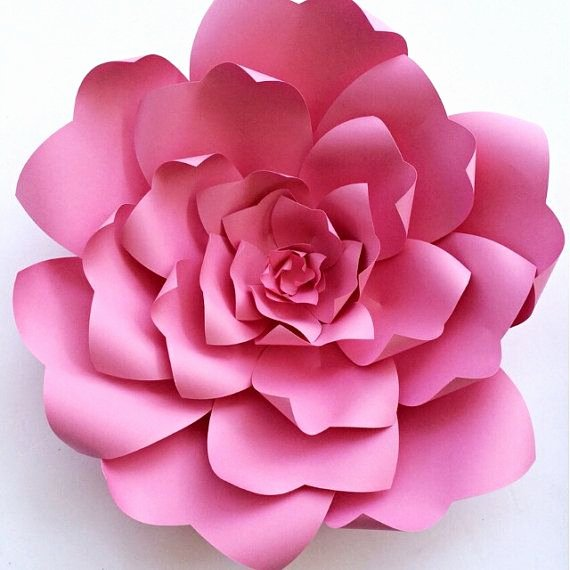 Paper Flower Backdrop Template Awesome Paper Flower Tutorial Paper Flower Backdrop Paper Flower
