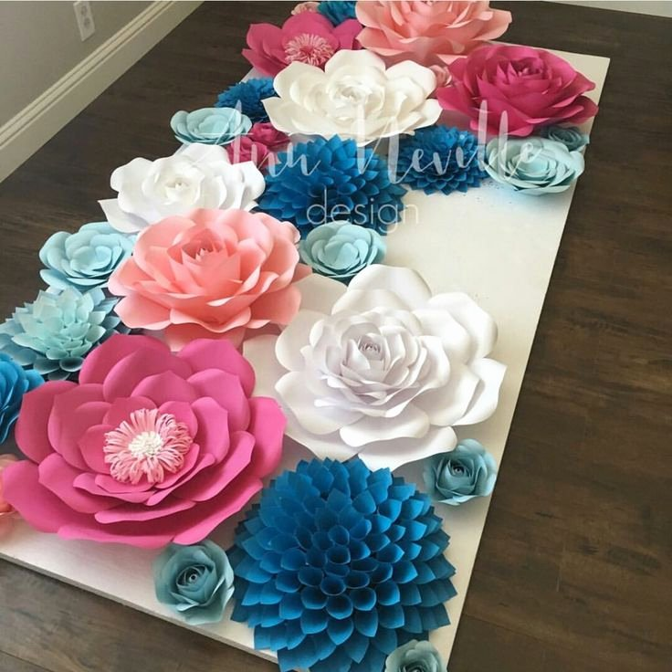 Paper Flower Backdrop Template Lovely Best 25 Paper Flower Backdrop Ideas On Pinterest