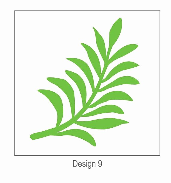Paper Flower Leaf Template Best Of Svg Digital Leaf Template 9 Cricut and Silhouette