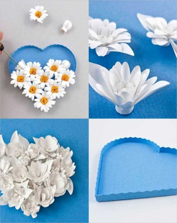 Paper Flower Template 3d Fresh 3d Paper Quilling Design – 16 Free Psd Eps format