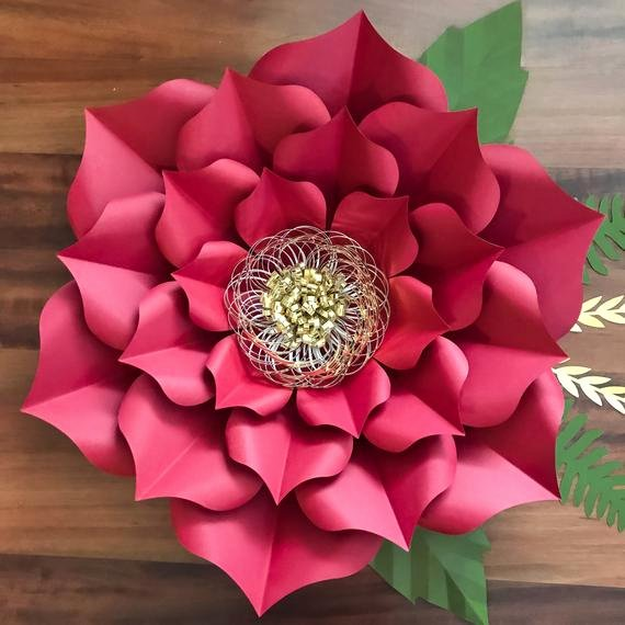 Paper Flower Template 3d Inspirational Pdf Petal 3 Giant Paper Flower Templates 3d and Diy Paper