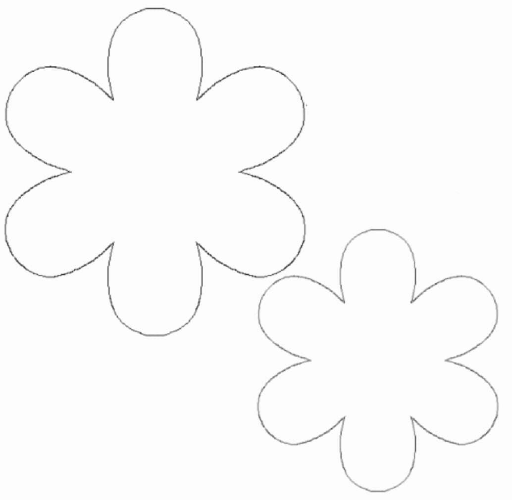 Paper Flower Template 3d Lovely 8 Best Of 3d Flower Cut Outs Printable Printable