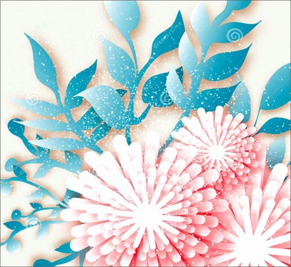 Paper Flower Template 3d Luxury 8 Flower Stem Templates Free Word Pdf Documents