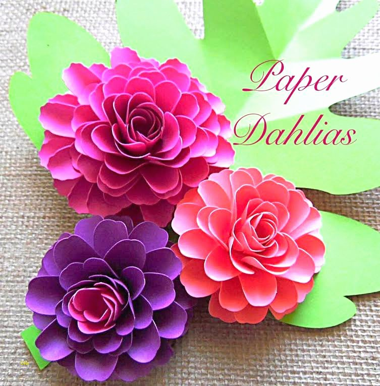 Paper Flower Template Pdf Inspirational Paper Flower Template Pdf Fresh Paper Flower Templates Diy