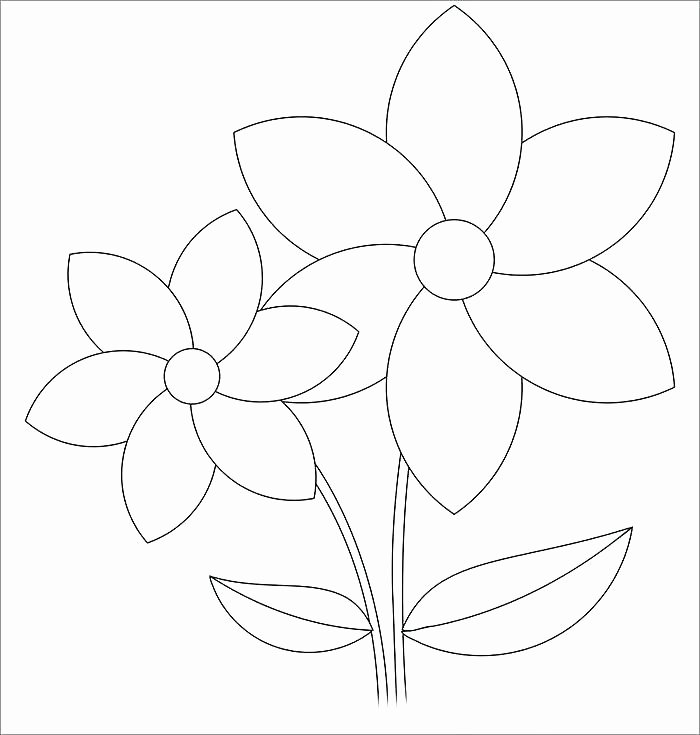 Paper Flower Template Pdf Luxury Free Flower Template Printable Paper Rose Diy Flowers