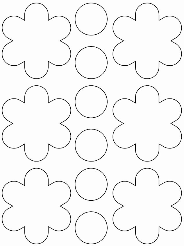 Paper Flower Template Printable Beautiful Best 25 Printable Flower Ideas On Pinterest