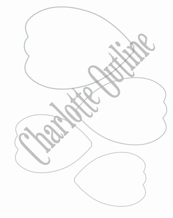 Paper Flower Template Printable New Diy Giant Paper Flower Printable Templates Flower Template