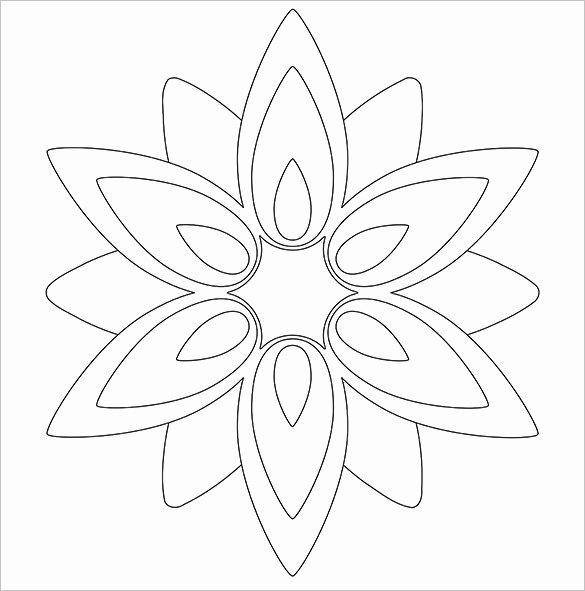 Paper Rose Template Pdf Best Of 14 Paper Flower Templates Pdf Doc Psd Vector Eps