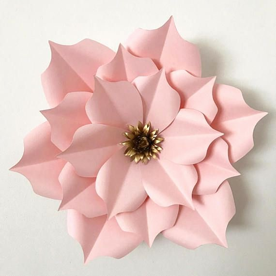 Paper Rose Template Pdf Lovely 25 Best Paper Flower Templates Ideas On Pinterest