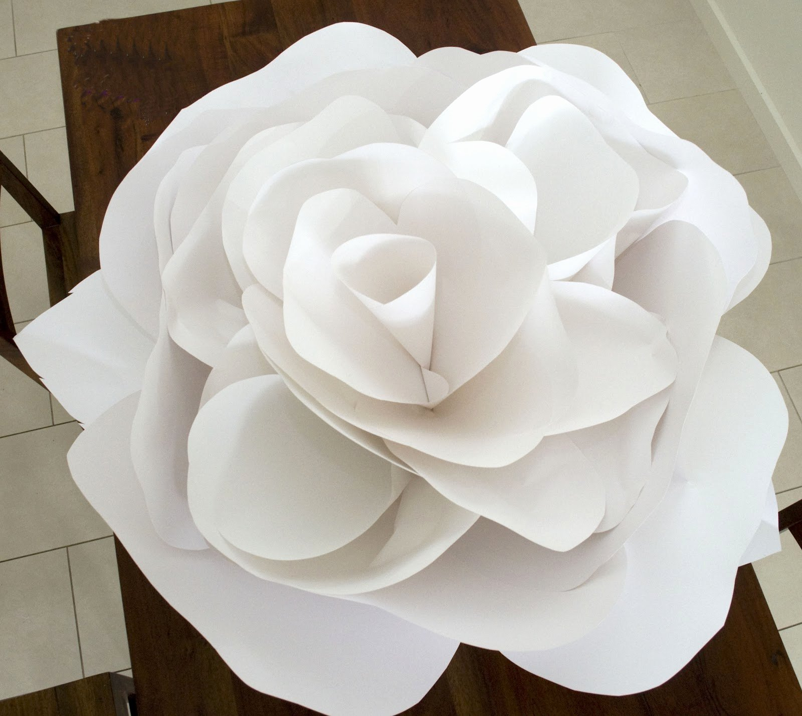 Paper Rose Template Printable Awesome Paper Flower Templates
