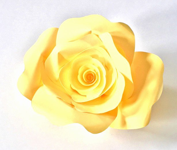 Paper Rose Template Printable Inspirational How to Make Diy Paper Roses with Free Printable Template