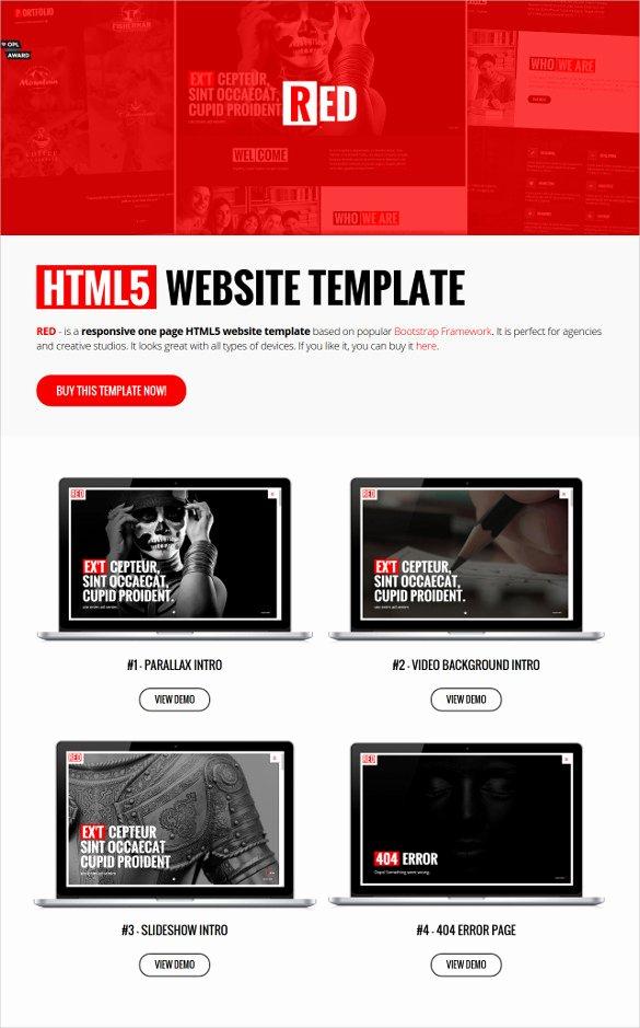 Parallax Website Template Free Fresh 30 Best Parallax HTML5 Templates