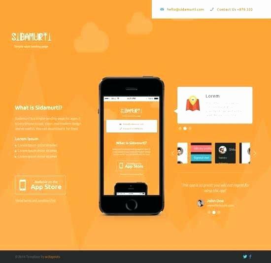 Parallax Website Template Free Inspirational Free Parallax Template HTML Demo Free E Page Parallax