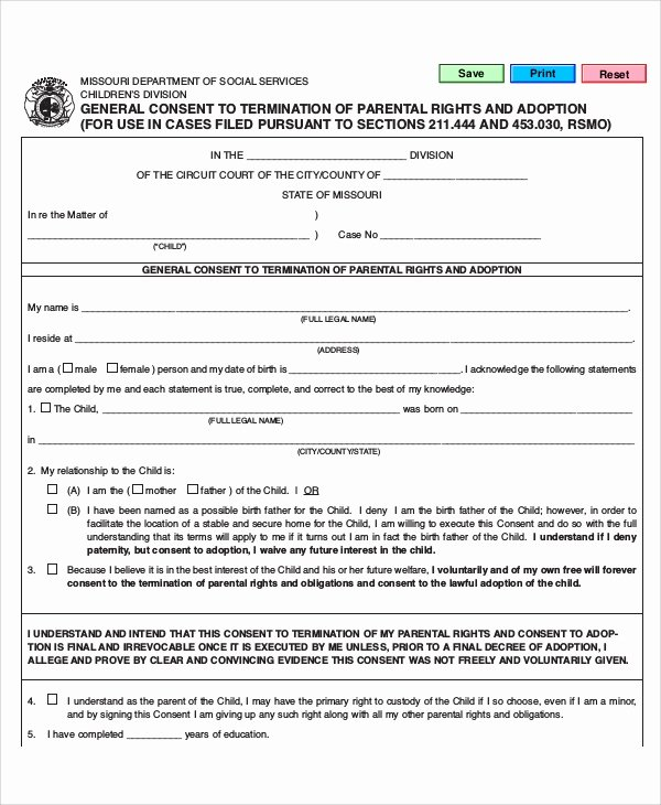 Parent Release form Template Awesome 10 Sample Parental Release forms
