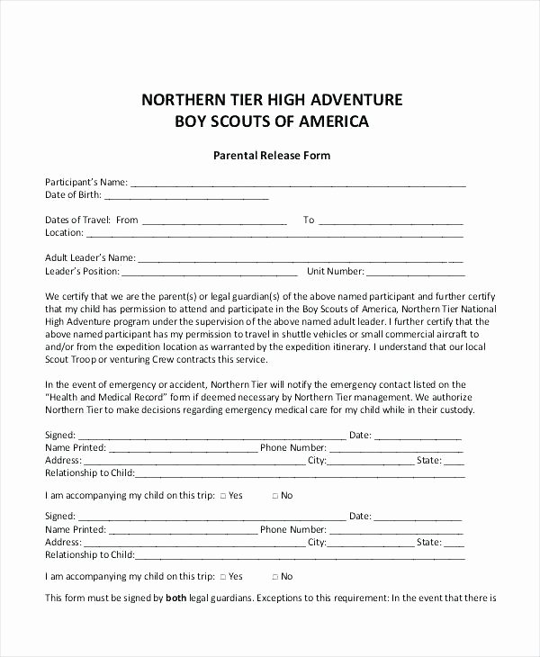 Parent Release form Template Awesome Excuse Parent Permission form for Movie Printable Slip