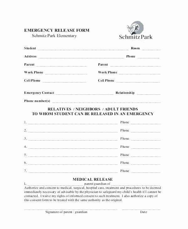 Parent Release form Template Awesome Parents Permit format Template C Definition Permission