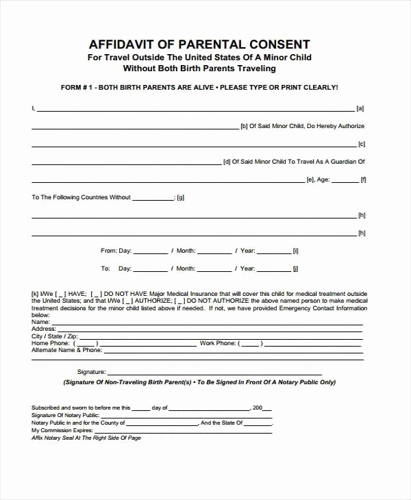 Parent Release form Template Fresh Parental Release form Template – Radiofama