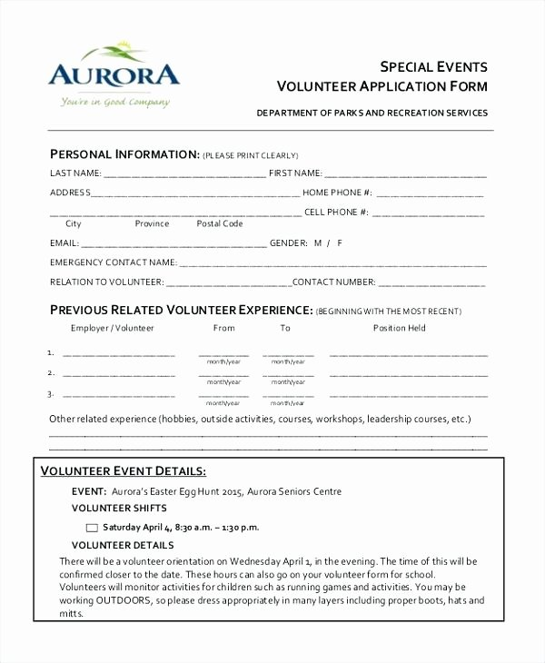 Parent Volunteer form Template Inspirational Parent Volunteer Request Letter form Template