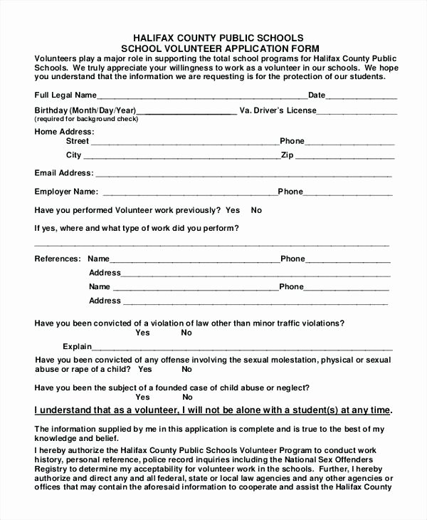 Parent Volunteer form Template New Parent Volunteer Request Letter form Template