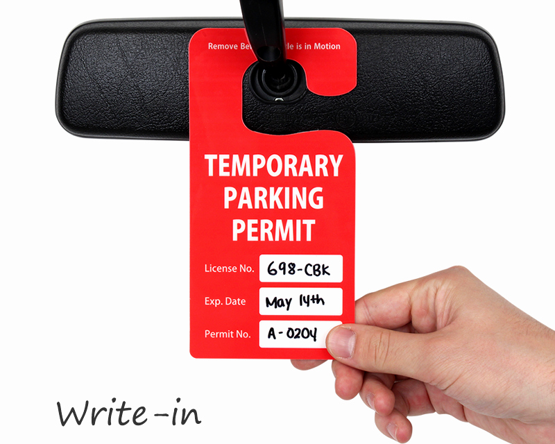 Parking Hang Tag Template Beautiful Custom Parking Hang Tags – See In Action