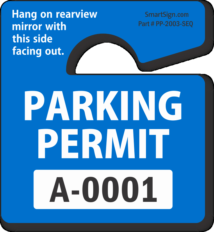 Parking Hang Tag Template Lovely Parking Hang Tags