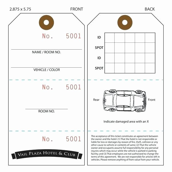 Parking Hang Tags Template Awesome Parking Pass Templates – Ameliaperry