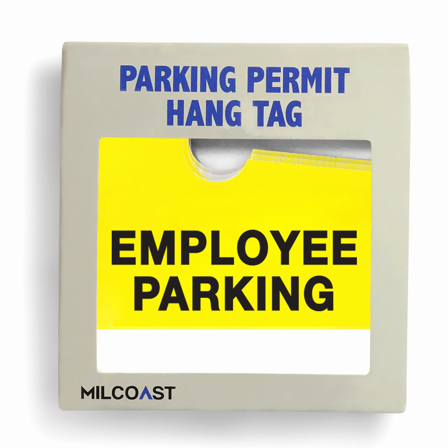 Parking Hang Tags Template Elegant Milcoast Employee Parking Permit Pass Stock Hang Tags – 10