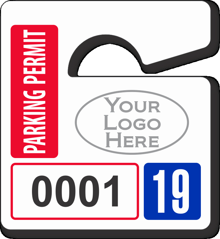 Parking Hang Tags Template Inspirational Mini Parking Permit Mirror Tags