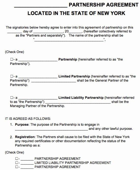 Partnership Buyout Agreement Template Luxury Limited Partnership Agreement Template New York