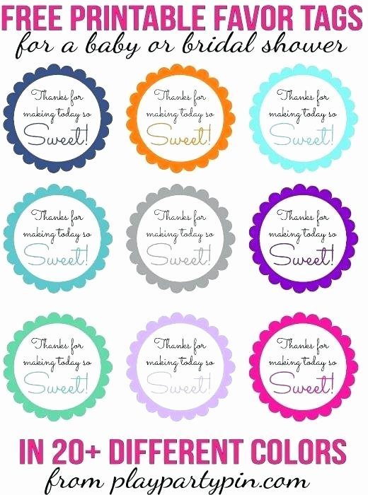 Party Favor Tag Template Lovely Birthday Party Name Tag Template Tags Free Printable