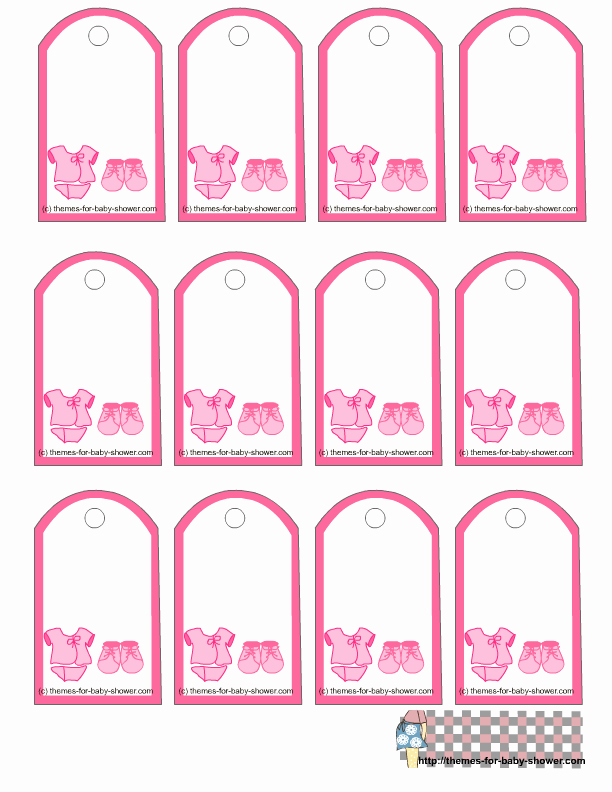 Party Favor Tags Template New 5 Best Of Free Printable Favor Tags Template Free