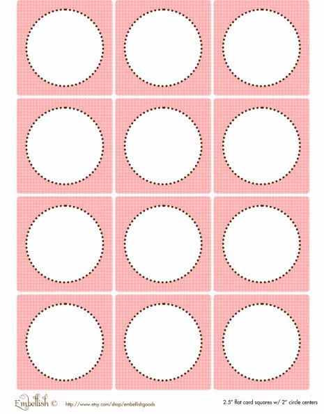 Party Favor Tags Template Unique Free Pink and Yellow Party Printables From Embellish