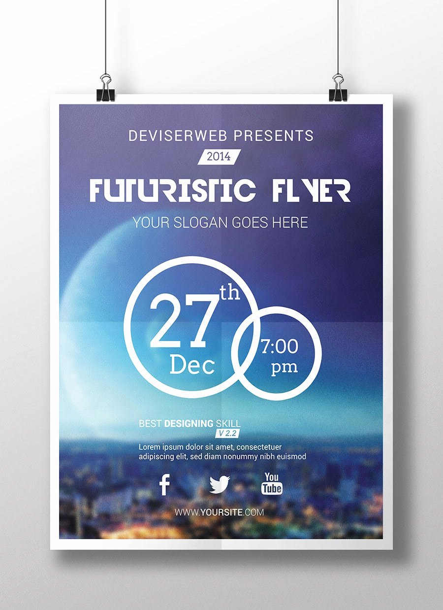 Party Flyer Template Free Fresh 44 Party Flyer Designs Psd Vector Eps Jpg Download