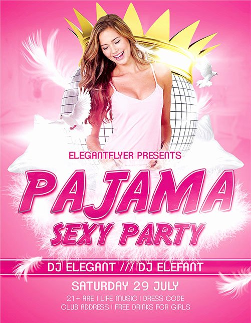 Party Flyer Template Free Fresh 50 Free & Premium Psd themed Party Flyer Templates