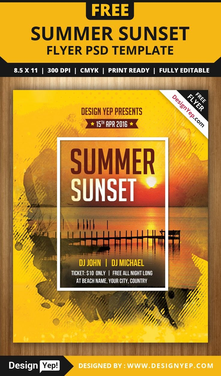 Party Flyer Template Free Luxury 64 Best Images About Free Flyers On Pinterest