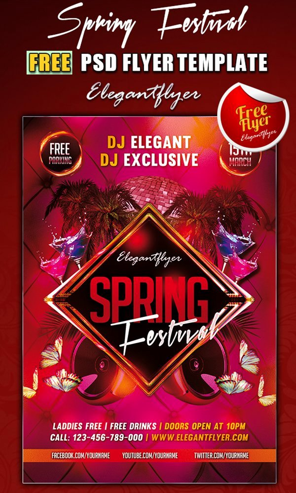 Party Flyer Template Free Unique 31 Free Party & Club Flyer Templates
