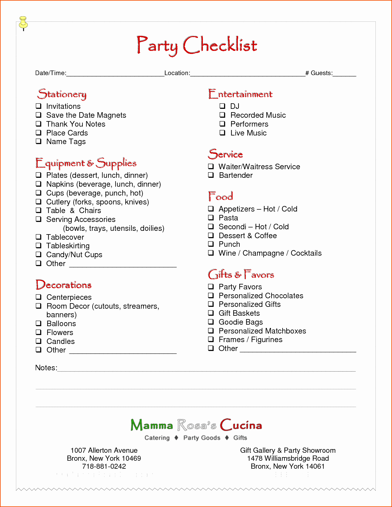 Party Plan Checklist Template Luxury 6 Party Planning Template Bookletemplate
