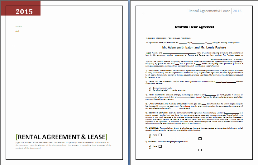 Party Rental Contract Template Elegant event Planner Contract Template for Word