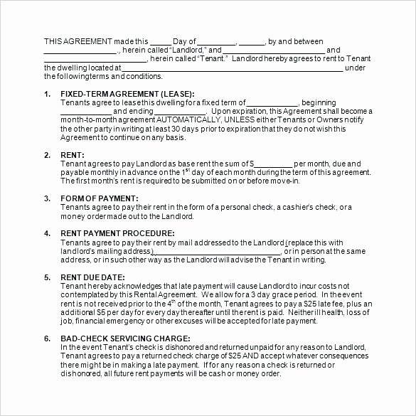 Party Rental Contract Template Unique event Space Rental Contract Template Venue Agreement