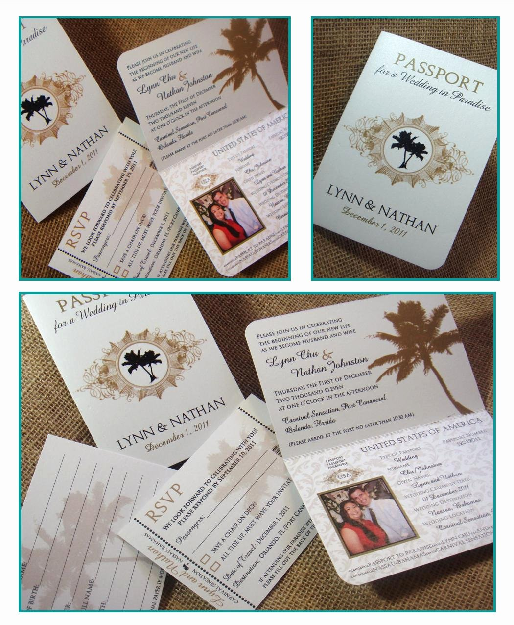 Passport Invitation Template Free Best Of From Me 2 You Creations Chu Wedding Passport Invitations