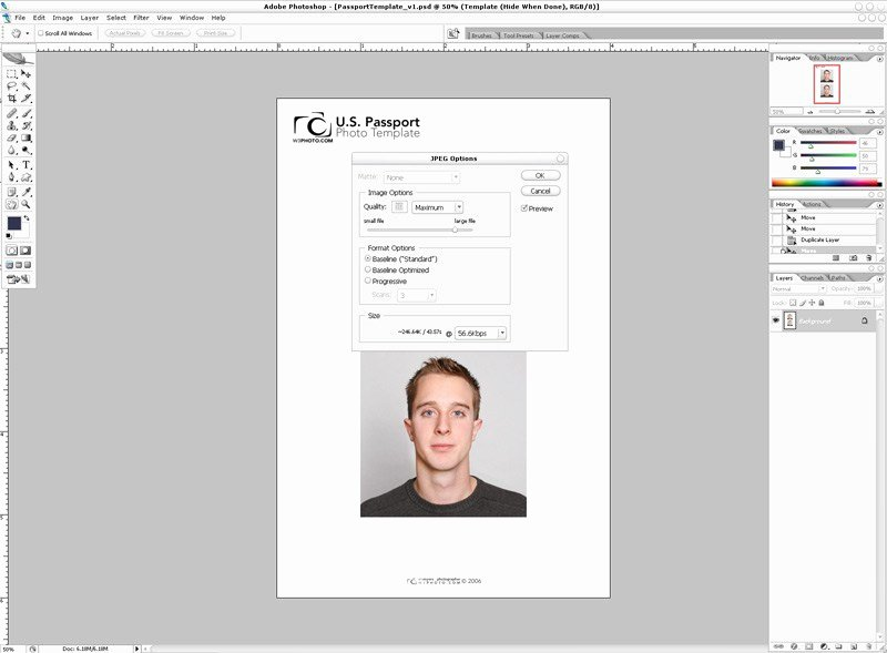 Passport Photo Template Psd Best Of Shop Passport Template V1 1
