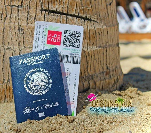 Passport Wedding Invitation Template Elegant 16 Passport Invitation Templates Free Sample Example