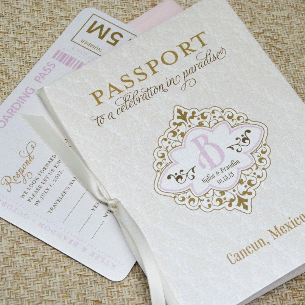 Passport Wedding Invitation Template New Wedding Invitation Wording Wedding Invitation Templates