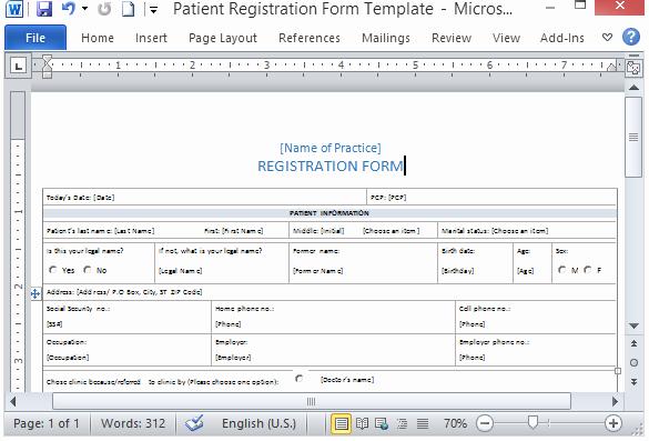 Patient Information form Template Best Of Medical form Templates Microsoft Word – Templates Free