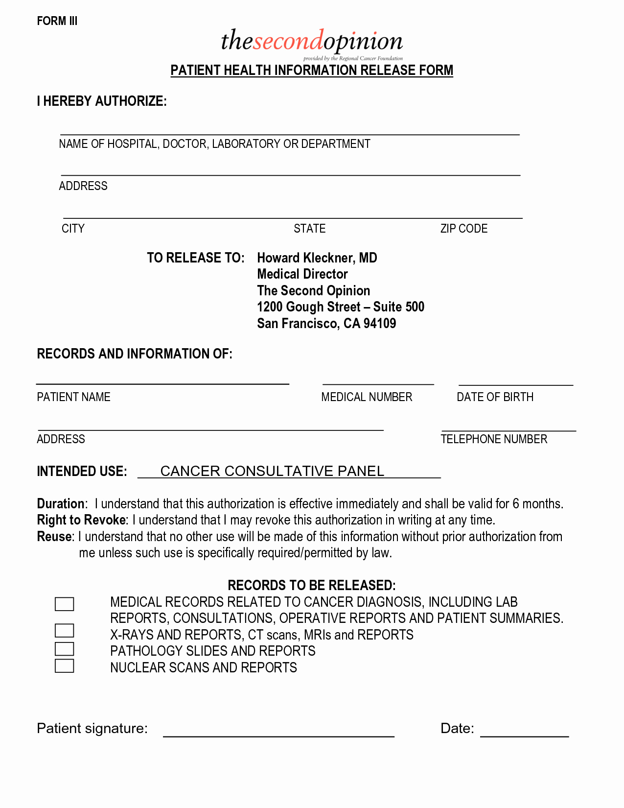 Patient Information form Template Fresh Free Doctor Note for Patient