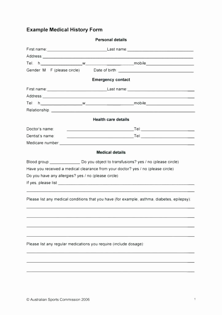 Patient Intake form Template Fresh Acupuncture Intake form Template Unique Patient Note