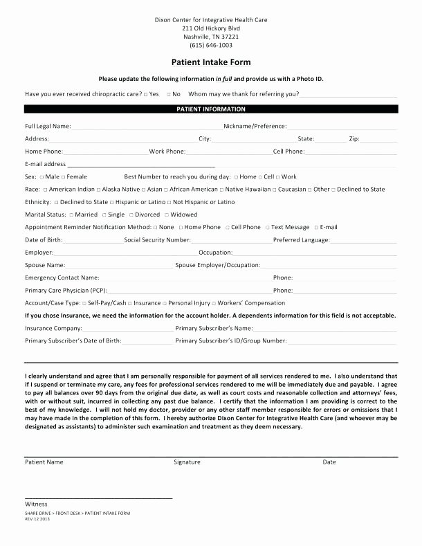 Patient Intake form Template Luxury Patient Intake Template Client Memo form Word – Superscripts