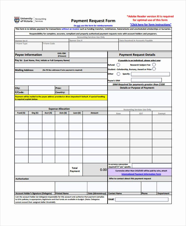 Payment Request form Template Beautiful Request form Template