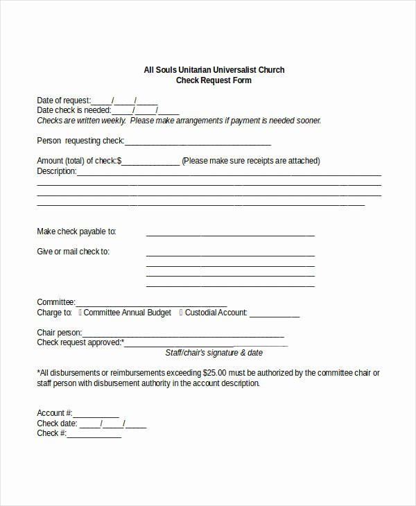 Payment Request form Template Fresh Check Request form 11 Free Word Pdf Documents Download