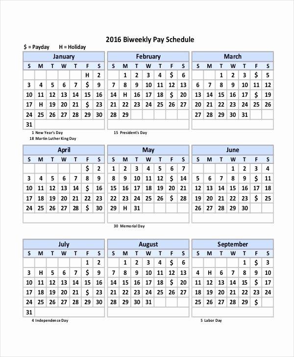 Payroll Calendar Template 2017 Beautiful Payroll Calendar Template 10 Free Excel Pdf Document